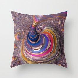 Big Juicy Fractal Throw Pillow
