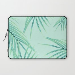 Summer Palm Leaves Dream #1 #tropical #decor #art #society6 Laptop Sleeve
