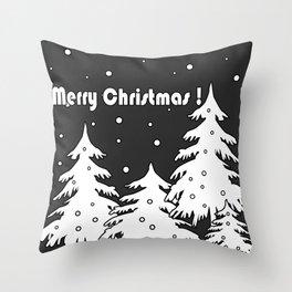 Merry Christmas ! Throw Pillow