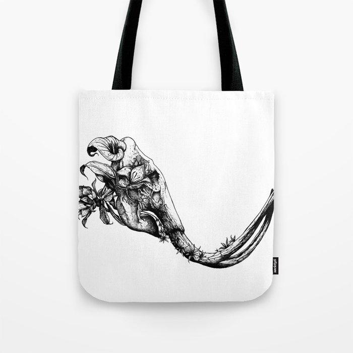 Prehistoric Bloom - The Mastodonte Tote Bag