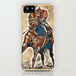 """""""Race Time"""" iPhone Case"""