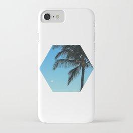 Moonpalm iPhone Case