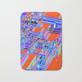 DISPLACED CITY Bath Mat