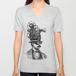 The Projectionist Unisex V-Neck