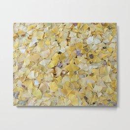ginkgo carpet Metal Print