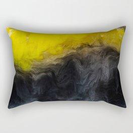 Vivid Mix Of Ink Clouds Rectangular Pillow