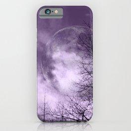 Purple Night  - JUSTART © iPhone Case