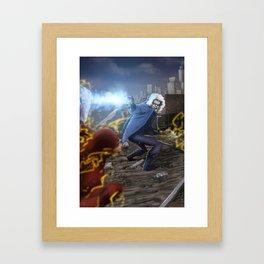 Don't Push your luck! Framed Art Print