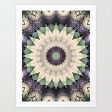 Web Of Dreams Mandala Art Print