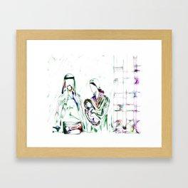 Away In A Manger II Framed Art Print