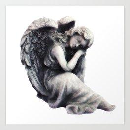 Resting Angel Art Print