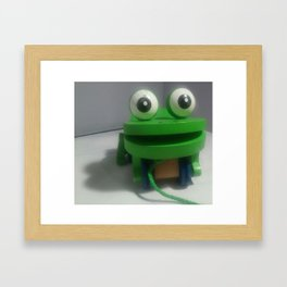 Eyes On You Framed Art Print
