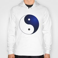 ying yang Hoodies featuring Ying Yang by Timeless-Id