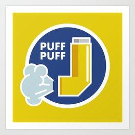 Puff Puff Art Print