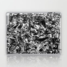 Striking Silver Laptop & iPad Skin