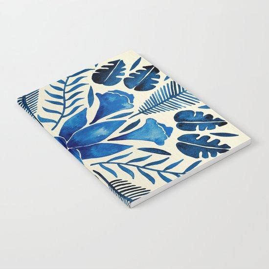 Tropical Symmetry – Navy Notebook
