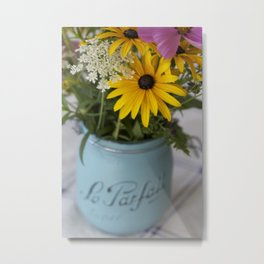 A French Bouquet of Field Flowers Metal Print