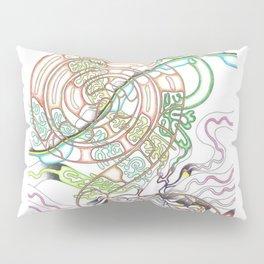 Coffee swirl Pillow Sham