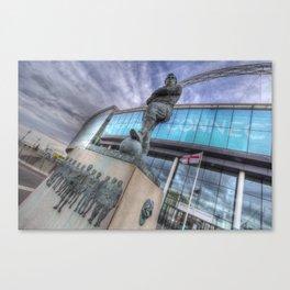 Bobby Moore Statue Wembley Stadium Canvas Print
