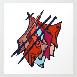 iDoodle 1 Art Print