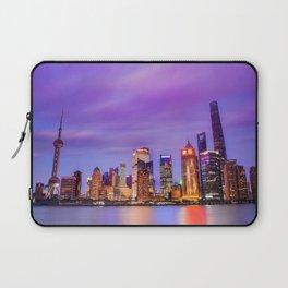Shanghai - World Big City Laptop Sleeve
