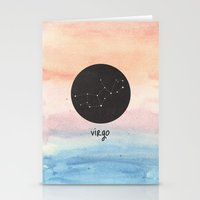 virgo Stationery Cards featuring Virgo by snaticky