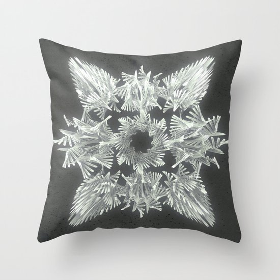 A Winged Debacle Throw Pillow