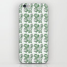 Green Bubbles iPhone Skin