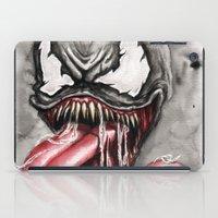 venom iPad Cases featuring venom by rchaem