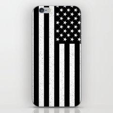 USA flag - HiDef Super Grunge Patina iPhone & iPod Skin