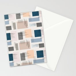 Wandering pastels Stationery Cards