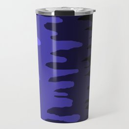 Splash of colour (blue) Travel Mug