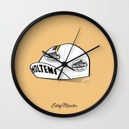 Grimpeur - Merckx cap Wall Clock