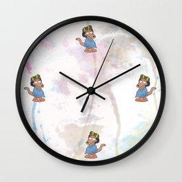 Rocko di rasta Wall Clock