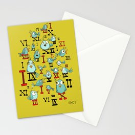 Chicky Time Stationery Cards