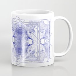 The Willow Pattern (Blue variation) Coffee Mug