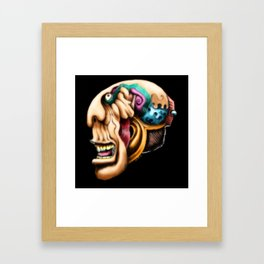 Freaky Framed Art Print