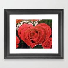 Blooming Heart Framed Art Print