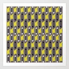 Mod Stripe Art Print