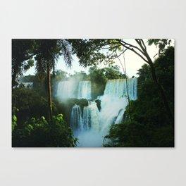 Wonderful Waterfall Canvas Print