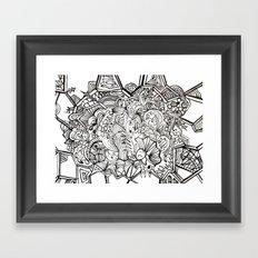 organiconnect Framed Art Print