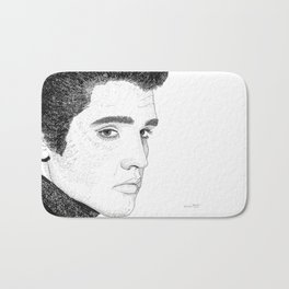 Elvis Presley - Word Art Bath Mat