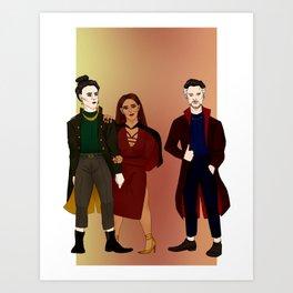 magic squad Art Print