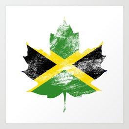 Jamaica/Canada Art Print
