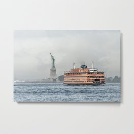 Ferry & Liberty Metal Print