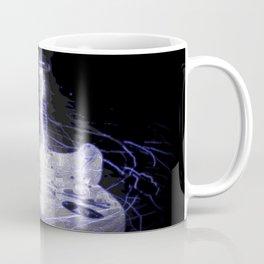 Blue Lightning Strat Coffee Mug
