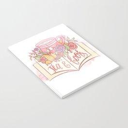 TEA & BOOKS Notebook