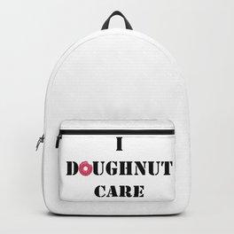 Doughnut. Backpack
