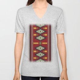 Navajo Pattern 1 Unisex V-Neck