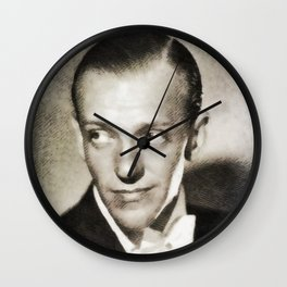 Fred Astaire, Vintage Actor and Dancer Wall Clock